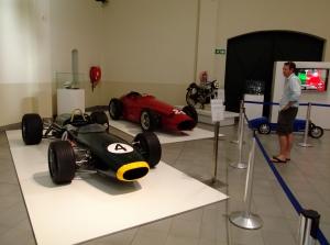 The popular Motor Museum near Fransschoek Town.