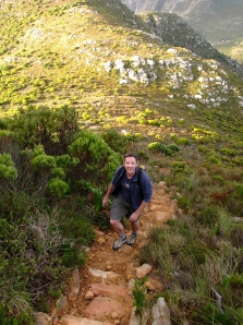 JP on the ascent of Chappies