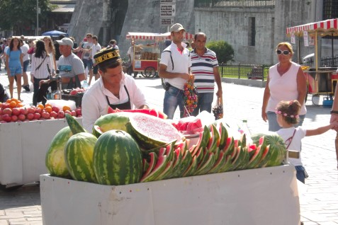 Watermellon seller