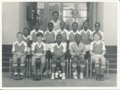 The colts football team, Highlands School, 1991. That's me in the bottom row, 2nd from left.