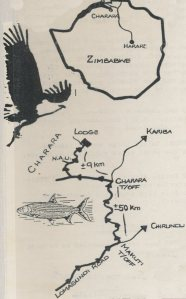 Route map to Mswenzi Lodge.