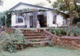 A view of the veranda from where the swimming pool was to be built.