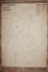 The scale map of the GNP which I drew up with the help of some early surveyor plans.